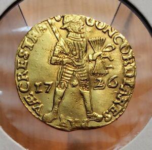 1726 Netherlands › Dutch Republic • Utrecht - Gold 1 Gulden DDO World Coin