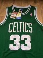 NBA Larry Bird 33 Boston Celtics RETRO Green Basketball jersey - size S/M/XL/XXL