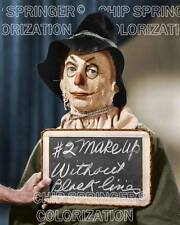 RAY BOLGER Scarecrow Test Shot #2 Wizard of Oz | 8x10 COLOR Photo by C. SPRINGER