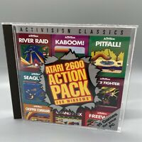Activision's Atari 2600 Action Pack For Windows 95 PC CD-Rom Computer Game