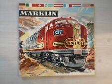 Catalogue Marklin 1961 1962 Complet en FRANCAIS