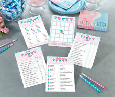 Gender Reveal Baby Shower Games Baby Shower Activity - Includes 4 Games!
