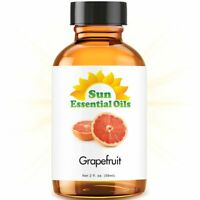 Best Grapefruit Essential Oil 100% Purely Natural Therapeutic Grade 2oz