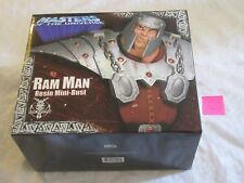 Neca Masters of the Universe MOTU Ram Man Resin Mini Bust Statue C #1707/2500