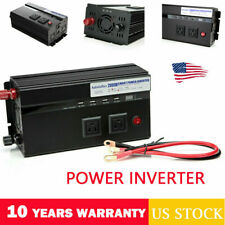 Power inverter 2000W-4000W 12V DC to 110V AC FOR Truck/RV Car/Home Charge Supply