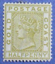 1879 GOLD COAST 1/2d SCOTT# 4 S.G.# 4 UNUSED                            CS01007