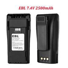 2x Ebl Nntn4497 4496 Li-ion Battery for Motorola Cp150 Ep450 Cp200D Pr400 Cp200