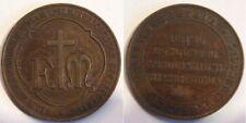 medaglia 1° congresso della misericordia a pistoia 1899
