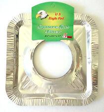 5pc Disposable Alumunum Foil Gas Range Burner Protector Non Stick Liner kitchen