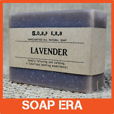Luxurious Lavender handmade soap facial body soap -  Deeply relaxing and calming