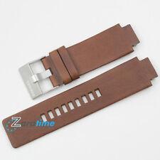 New Original DIESEL Replacement Watch Strap DZ1090 Brown Genuine Leather