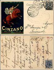 Cinzano vermouth Torino, ill.Leonetto Cappiello, viag1920, ottimo stato