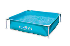 "Intex Mini Frame Kids 48"" x 48"" x 12"" Beginner Kiddie Swimming Pool 