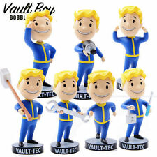 "5"" Fallout 4 Vault Boy Figura TECH 111 miniature Action Figure Set di 7"