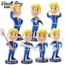 "5"" Fallout 4 Vault Boy Figure Tech 111 Bobbleheads Action Figure Set of 7"