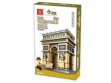 Triumphal Arch of Paris France Architecture Building Blocks Bricks - Wange