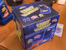 excalibur space invaders table top arcade game in box  arcade game collectable