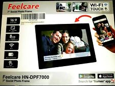 Feelcare 7 Inch Smart Wifi Digital Picture Frame with Touch Screen IPS LCD