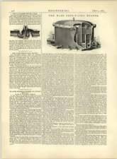 1883 Dd Wass Feedwater Heater, Lancaster Swivel Joint Salford