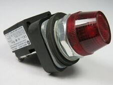 Allen-Bradley 800TC-QH2R Universal LED Pilot Light 12-130V Red Lens ! WOW !