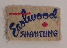 Vintage Designer Clothing Label Tag - Eastwood Shantung