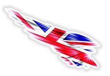 Union Jack British Sticker UK Motorcycle Gas Tank Bumper Helmet Top Case Car