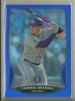 Yasmani Grandal 2013 Bowman Chrome BLUE Refractors #'d / 250 Chicago White Sox