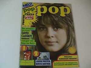POP 1974 SUZI QUATRO 32 X 22 INCH SUPER POSTER GERMAN MAGAZINE not CREEM