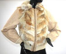 1970s Coyote fur bomber jacket