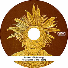 Bureau of American Ethnology BAE (Complete 48 Volume Set} Annual Reports - Books