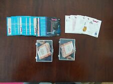 LOT OF 3 SKYBOX SETS 2 SNOW WHITE 90 CARD SETS & 1 CINDERELLA (-1) +PUZZLE,PUNCH