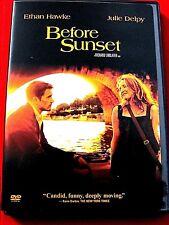 Before Sunset Mint Dvd Oop Ethan Hawke Julie Delpy Richard Linklater
