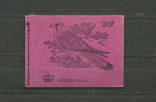 Great Britain Booklet 30 p N5 British Bird The Kestle August 1972 Mnh