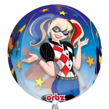 40.6cm DC Super Hero Girls Children's Party Globe Ball Orb Shape Foil Balloon