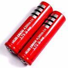 2 x Lithium Ionen Akku 3,7 V Li - ion 4200 mAh Typ 18650 Modellbau 65 x 18 mm