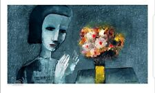 "CHARLES BLACKMAN ""Girl With Flowers"""