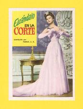 A Breath of Scandal Sophia Loren Rare CINE 1962 Card from Spain