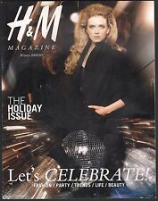 WINTER 2008/2009 H&M MAGAZINE, HOLIDAY ISSUE, FASHION TRENDS