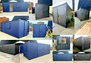 20ft x 8ft A/V Office Container Conversion -  Nationwide Delivery