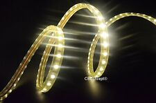 UL Listed,10 Feet,Warm White 3000K,Super Bright 2700 Lumen 120V Flat LED Strip