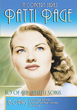 In Concert Page - Patti Page (DVD, 2006) RARE BRAND NEW