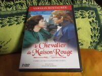 """COF 2 DVD NEUF """"LE CHEVALIER DE MAISON ROUGE"""" Michel LE ROYER, Dominique PATUREL"""