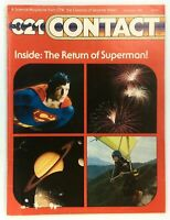 3 2 1 Contact Magazine JUL/AUG 1981 SUPERMAN II ZOD CHRISTOPHER REEVE FIREWORKS