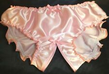 "🌸MADE TO ORDER* ""SATIN SISSY"" CROTCHLESS  Knickers any size&colour 🌸"