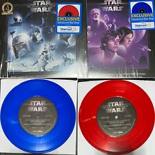 Star Wars A New Hope Blue Vinyl & The Empire Strikes Back Red Vinyl Vaders Theme