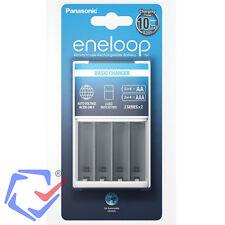 Panasonic Eneloop Cargador convencional de baterías 100-240V Para pilas AA y AAA