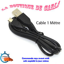 CABLE DE CHARGE MICRO USB NOIR POUR MANETTE PLAYSTATION SONY PS4 XBOX ONE