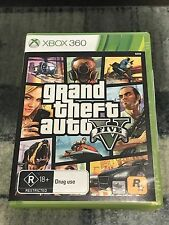 Grand Theft Auto 5 V (Microsoft Xbox 360) *LIKE NEW*