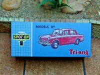 TRIANG SPOT-ON, NO.287 HILLMAN MINX, CUSTOMISED DISPLAY/STORAGE BOX ONLY