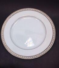 """Miksa Platinum Symmetry 12"""" Round Serving Chop Plate L5620"""